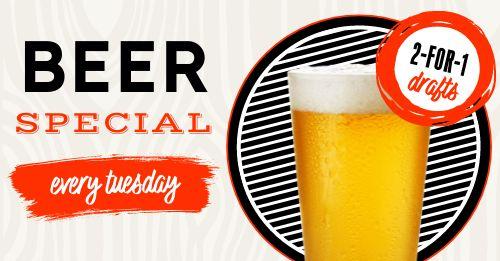 Beer Specials Facebook Post