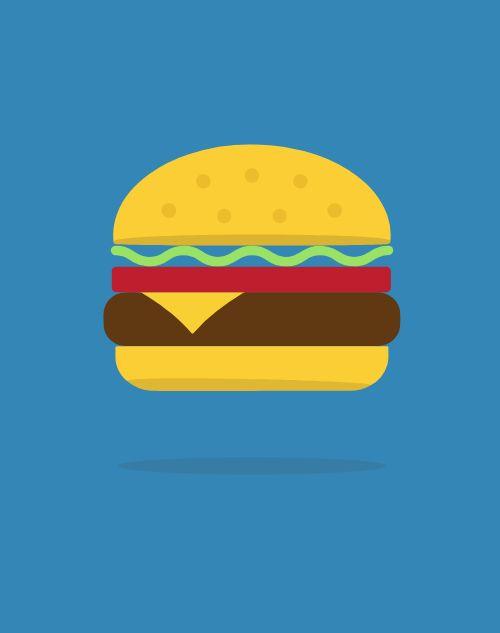 Burger Sandwich Board