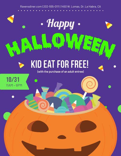 Halloween Kids Flyer