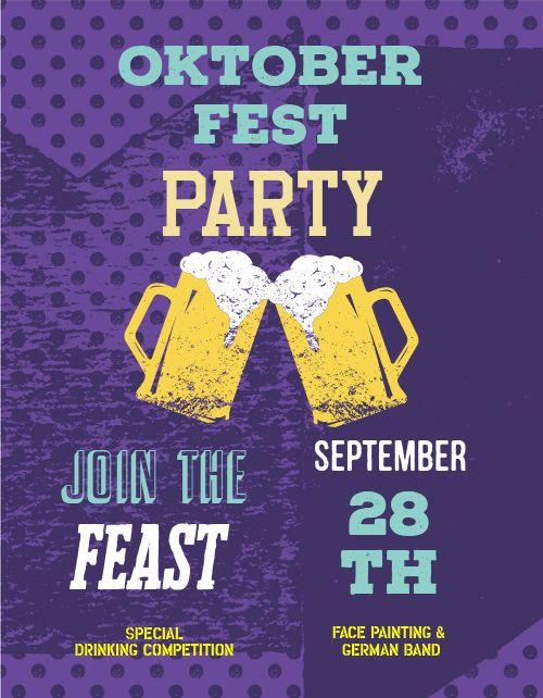 Oktoberfest Feast Flyer