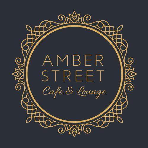 Cafe Lounge Logo Sticker