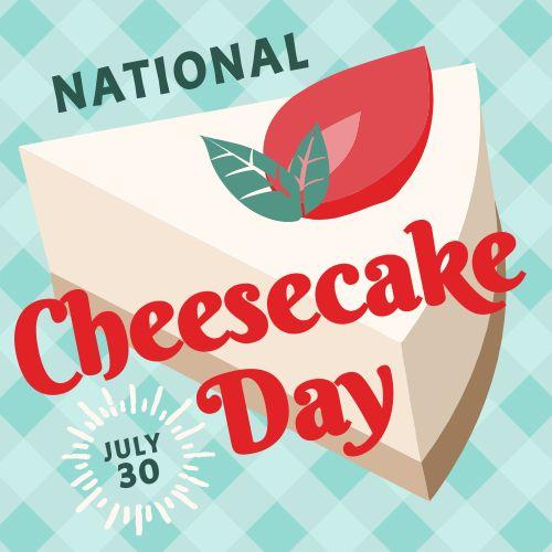 Cheesecake Instagram Post