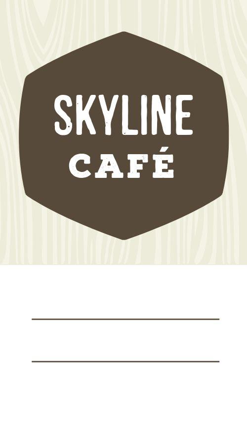 Cafe Logo Seal