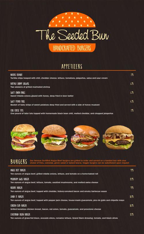 Burger Menu Idea