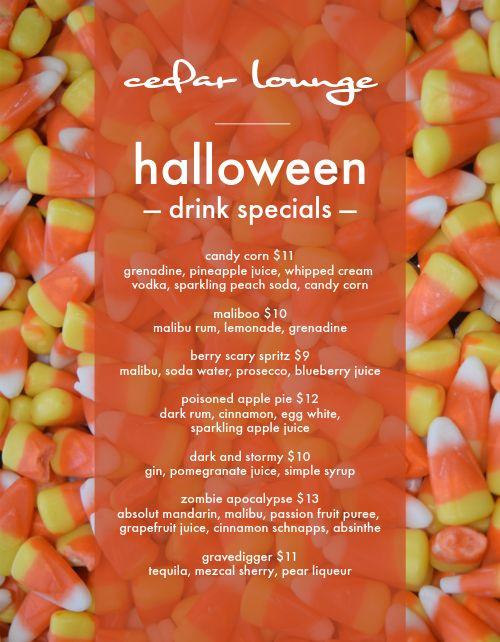 Halloween Candies Flyer