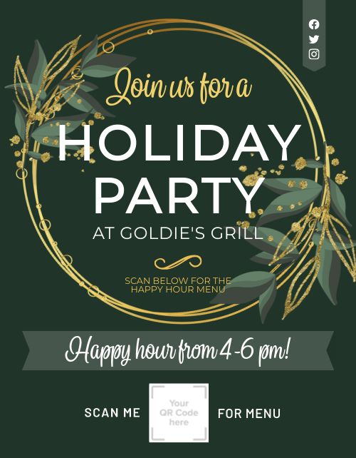 Holiday Party Announcement