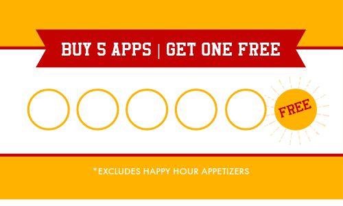 Appetizer Loyalty Card