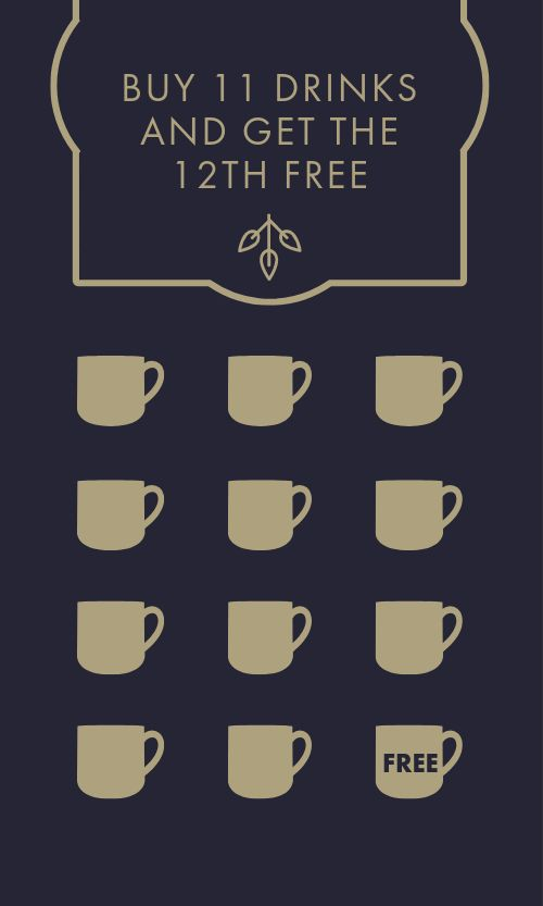 Coffee House Loyalty Card