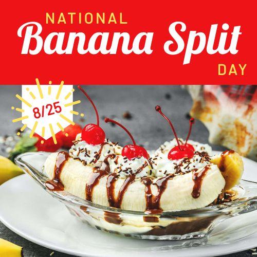 Banana Split Instagram Update