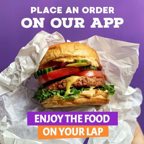 Burger App Instagram Post