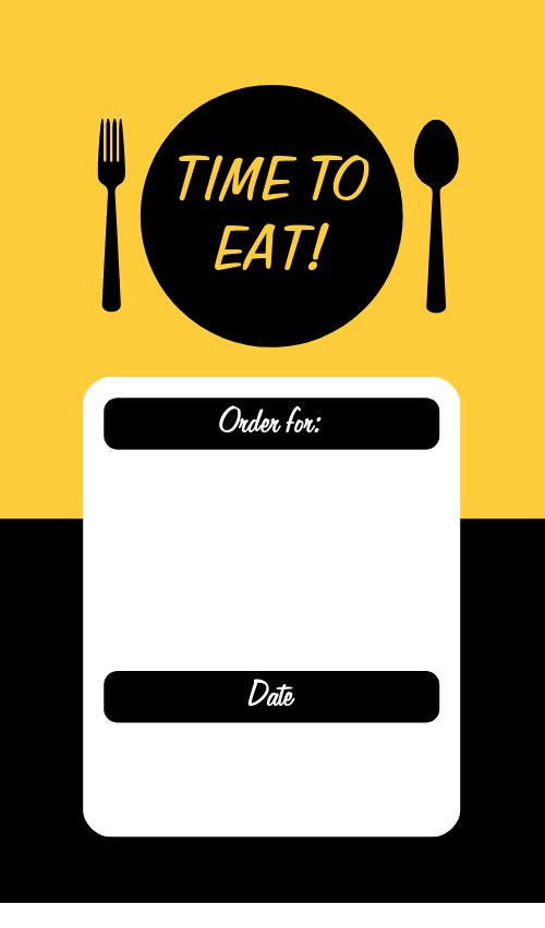 Eat Food Sticker
