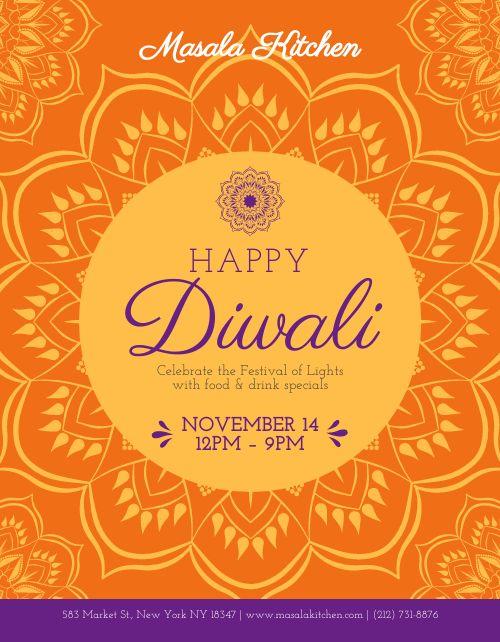 Diwali Flyer Handout