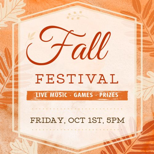 Fall Event Instagram Post