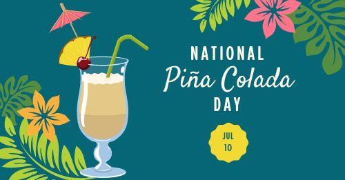Pina Colada Facebook Update