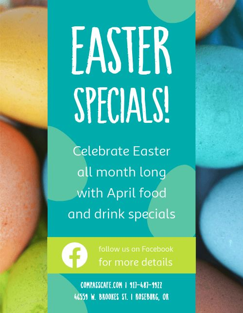 Easter Meal Flyer