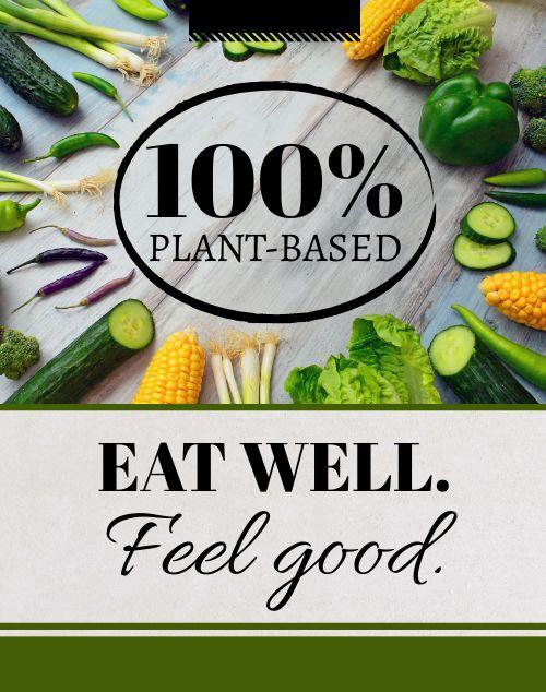 Colorful Vegan Poster