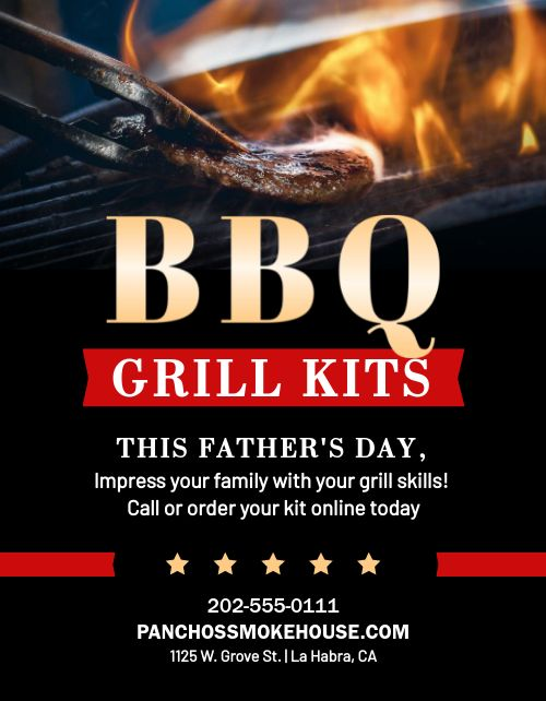 BBQ Grill Sign