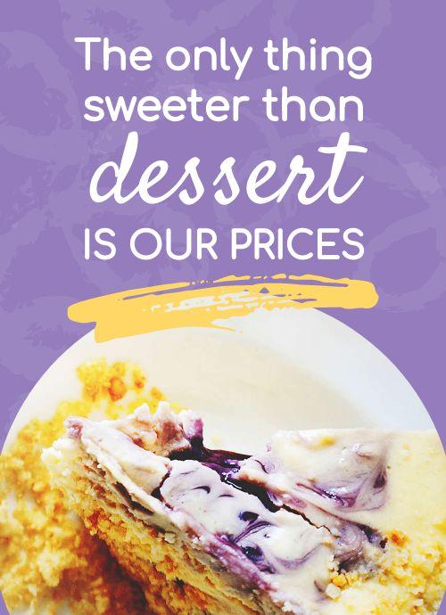 Dessert Tabletop Insert