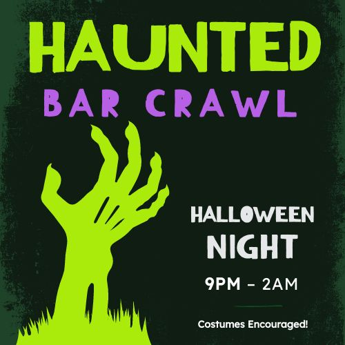 Halloween Bar Crawl Instagram Post