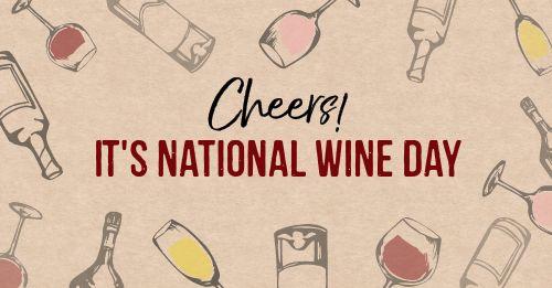 Wine Day Facebook Post