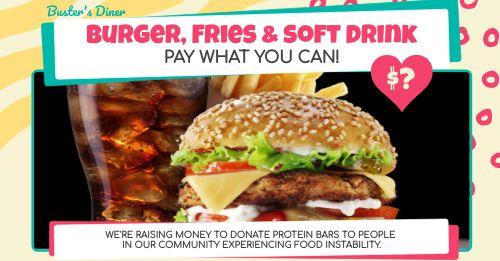 Burger Meal Facebook Post