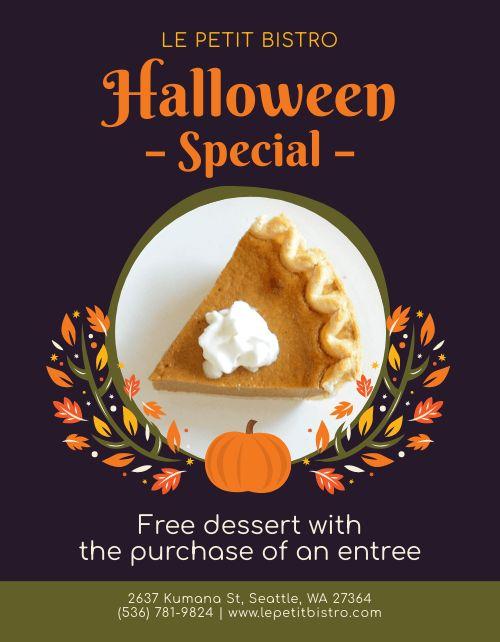 Halloween Specials Signage