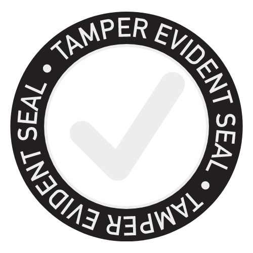 Tamper Evident Takeout Sticker