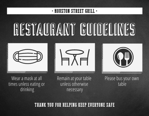 New Guidelines Sign