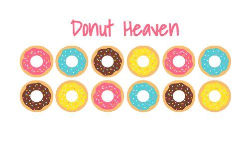 Donut Stamp Card