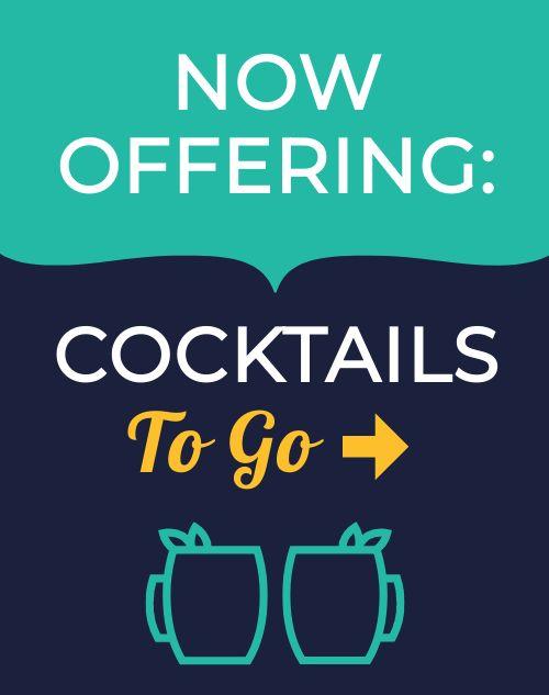 Cocktails Sidewalk Sign