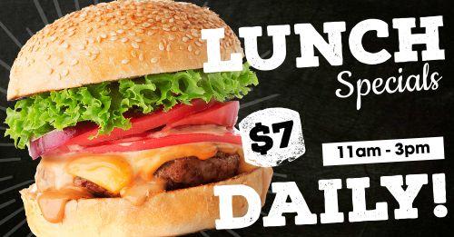 Lunch Specials Facebook Post