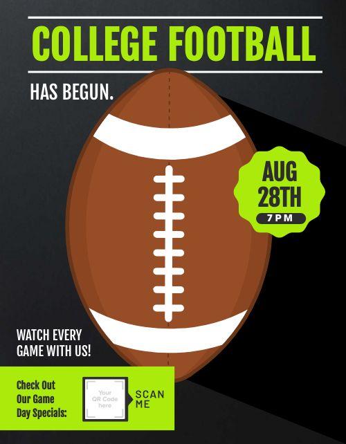 College Football Promo