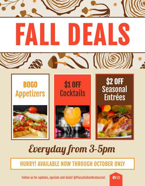 Fall Deals Flyer