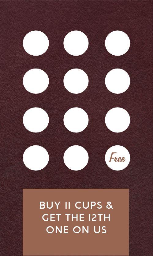 Coffee Bean Loyalty Card