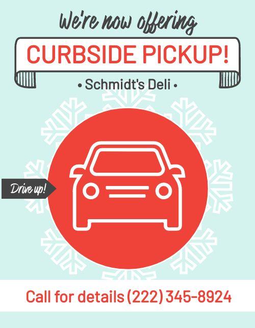Winter Curbside Pickup Flyer