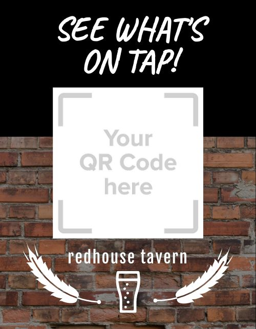 Tavern QR Code Flyer
