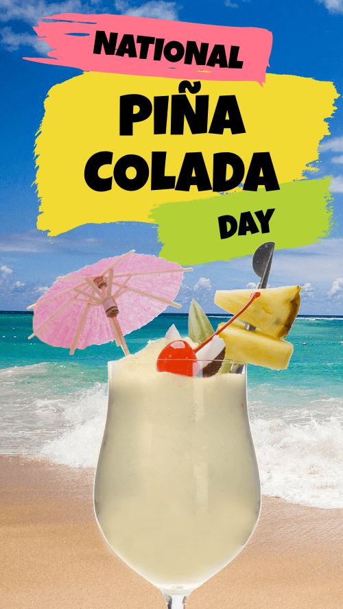 Pina Colada Facebook Story