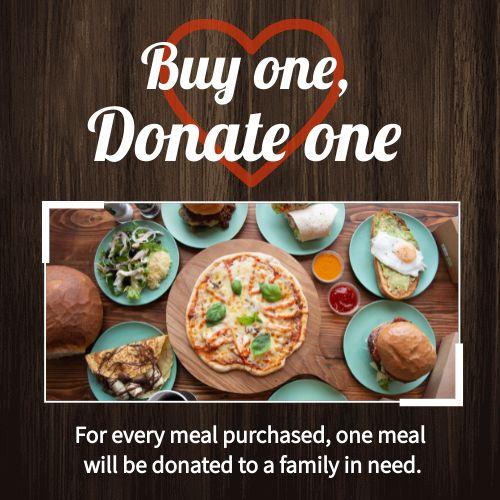 Donation Instagram Post